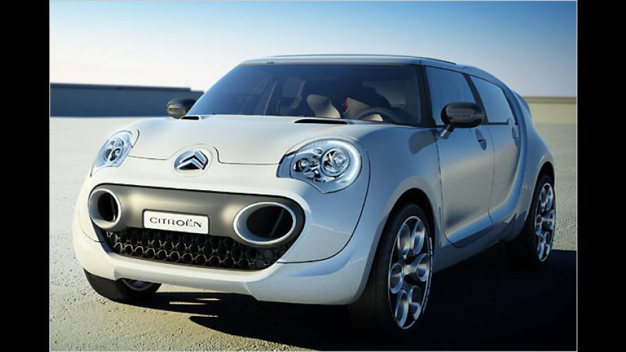 Das Concept-Car Citroën C-Cactus mit Diesel-Hybridmotor