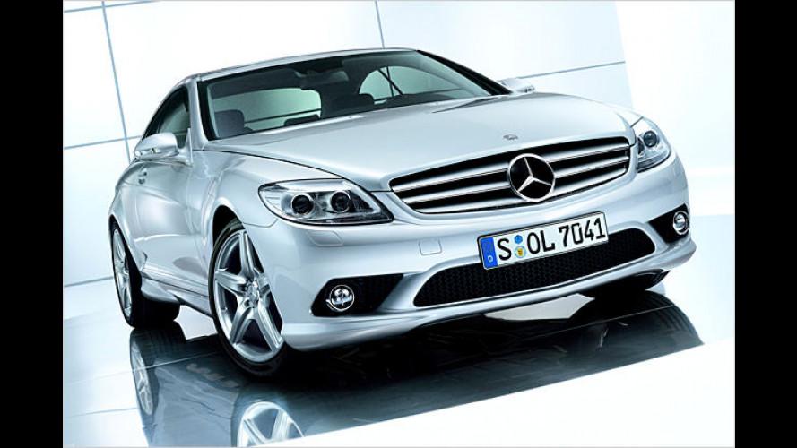 Richtig kräftig aussehende Schönheit: Mercedes CL AMG