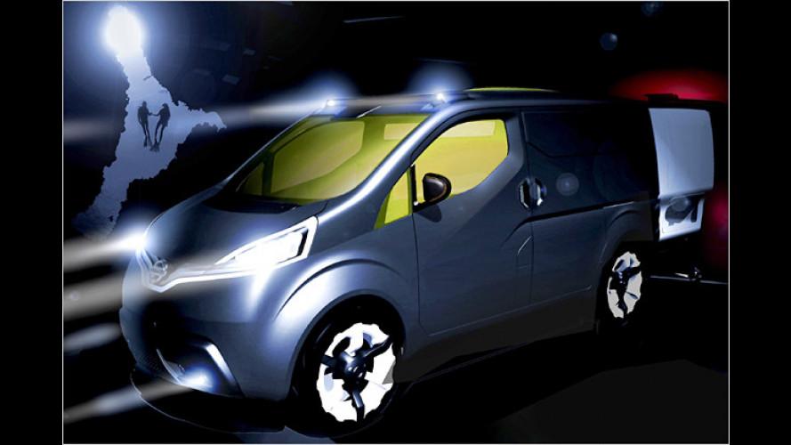 Nissan-Studie NV200: Schicker Nutzlaster für die Zukunft