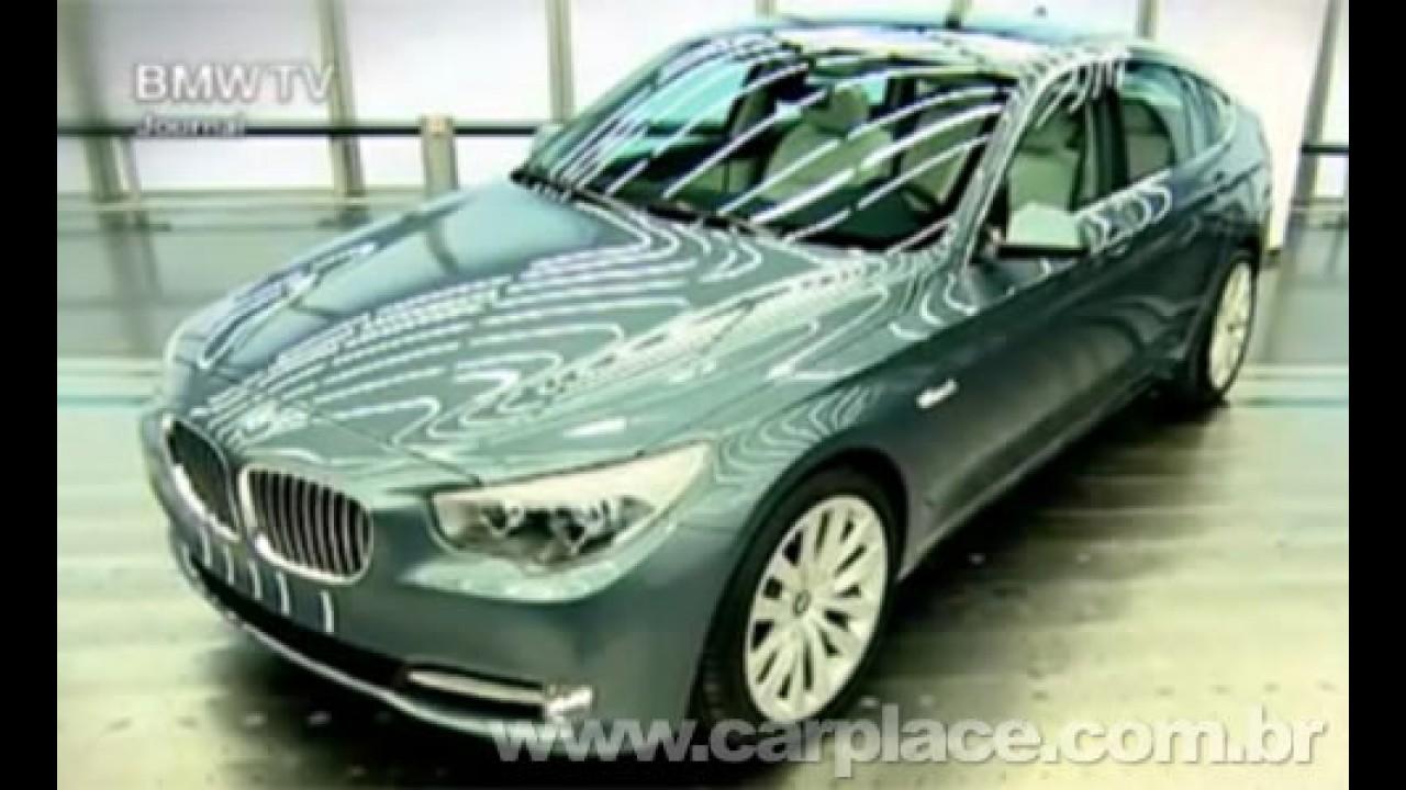 BMW Série 5 GT - Veja o vídeo que revela a versão de produção do modelo