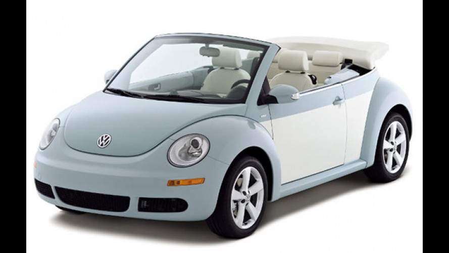 VW apresenta New Beetle Final Edition e anuncia que modelo sairá de linha em 2011