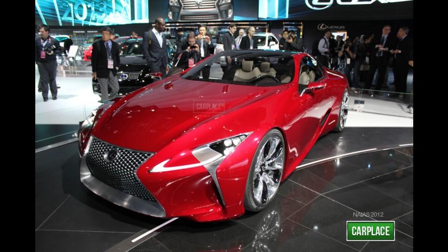Salão de Detroit: Lexus LF-LC prova que um híbrido esportivo pode ser belo