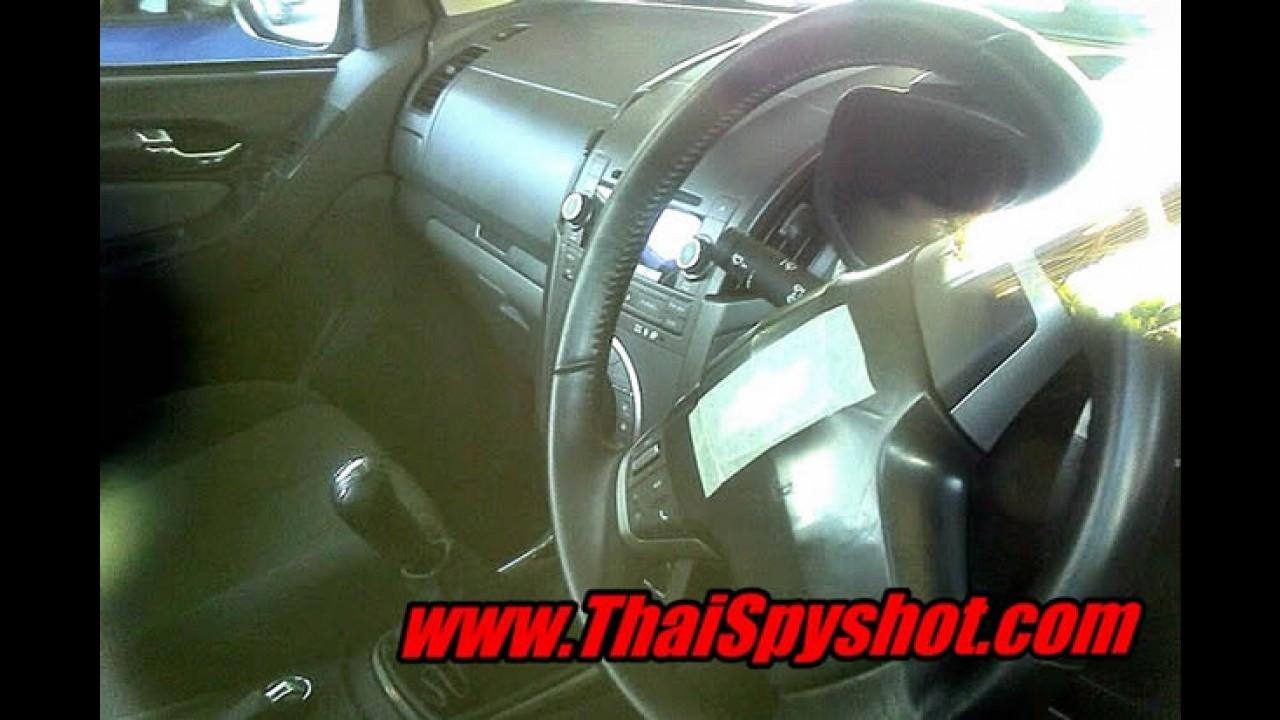 Segredo revelado: Nova Chevrolet S10 / Colorado 2013 é flagrada na Tailândia