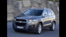 GM anuncia recall para o Chevrolet Captiva nos Estados Unidos