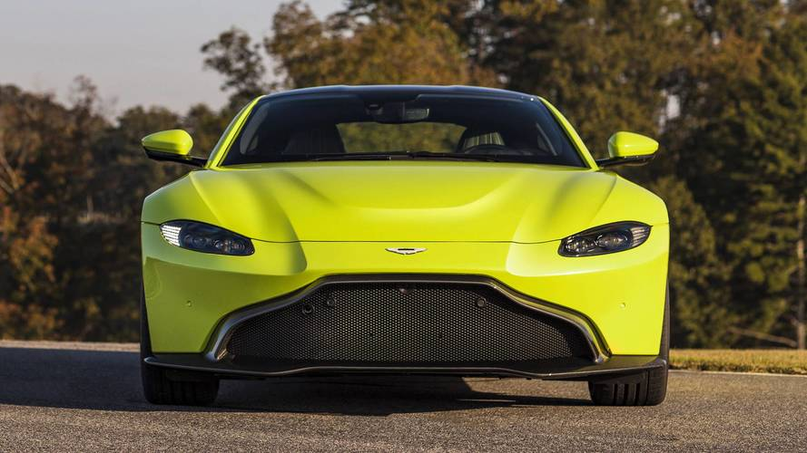 Gallery: All the latest pictures of the new Aston Martin Vantage