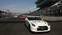 Nissan GT-R Wins Maiden Race