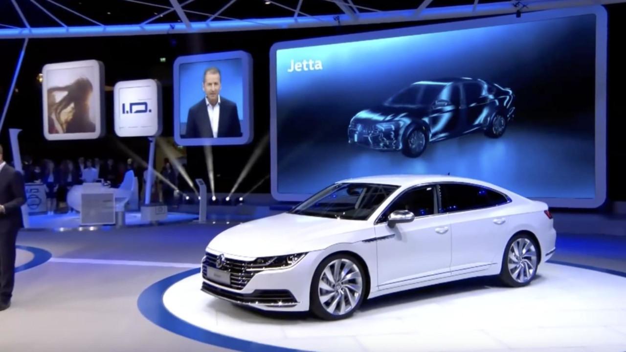 Novo Volkswagen Jetta - Esboços