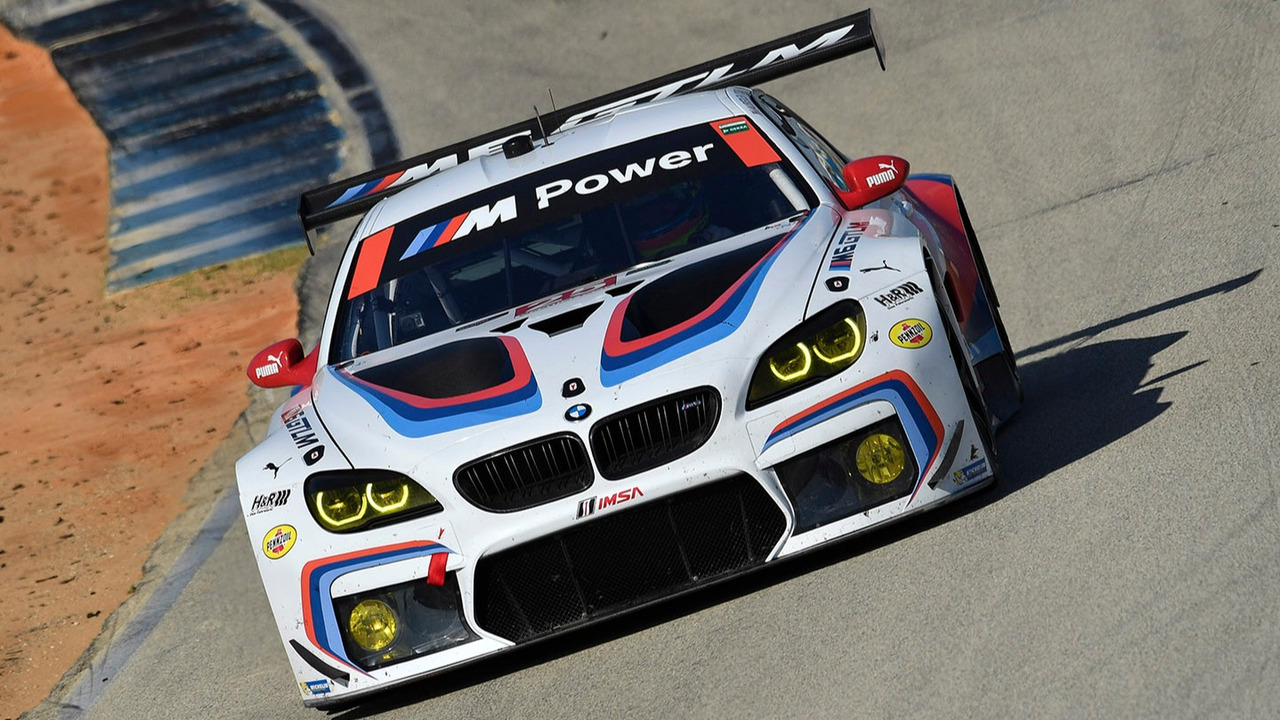 #25 BMW Team RLL BMW M6 GTLM- Bill Auberlen, Alexander Sims, Kuno Wittmer