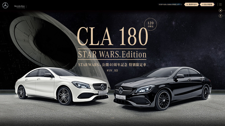 Mercedes CLA 180 Star Wars