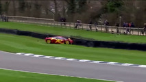 McLaren F1 GTR Nick Mason Crash