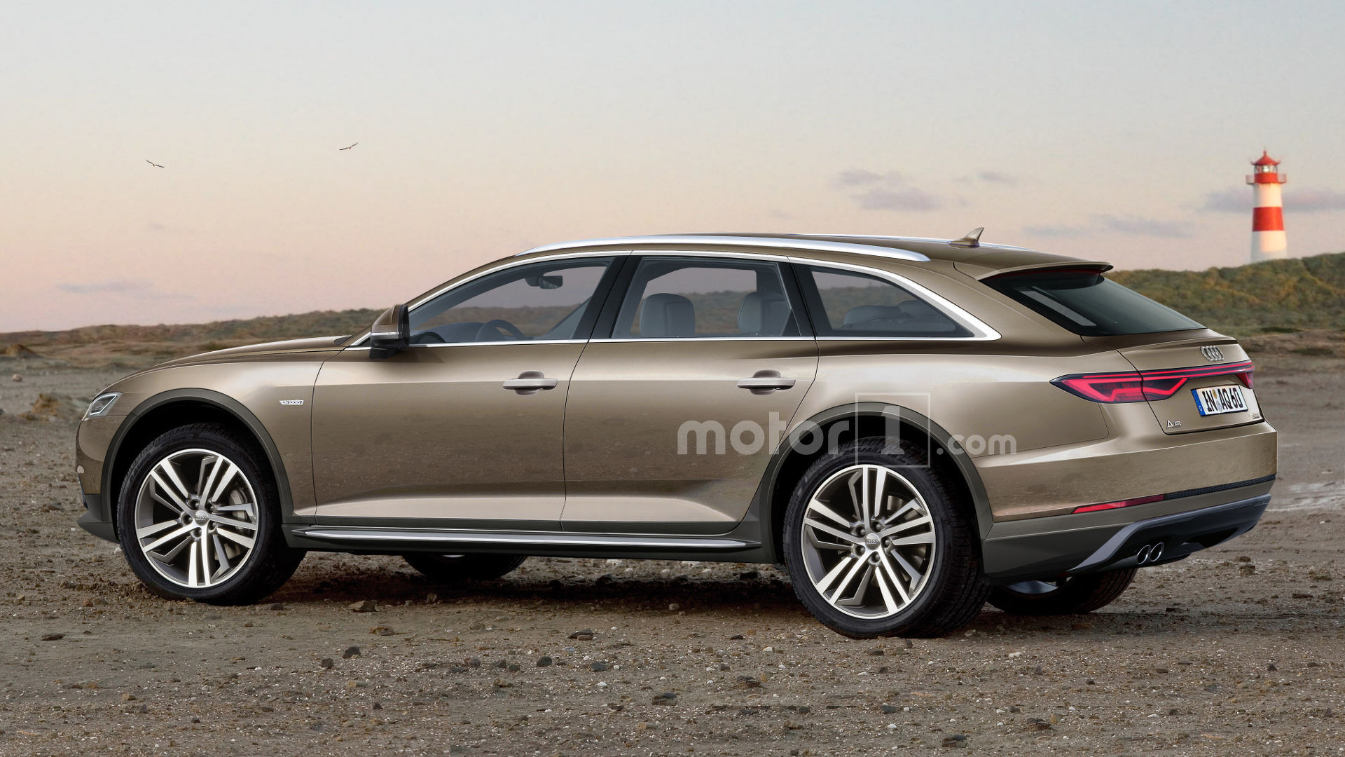 Audi A Allroad Rendering Looks Ready To Get Dirty - Audi a6 allroad