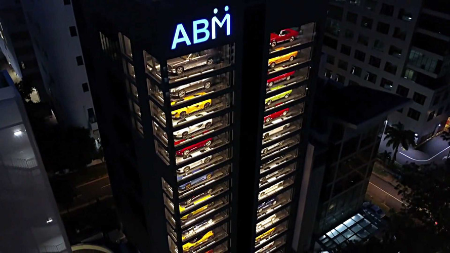This Is The World's Largest Luxury Car Vending Machine