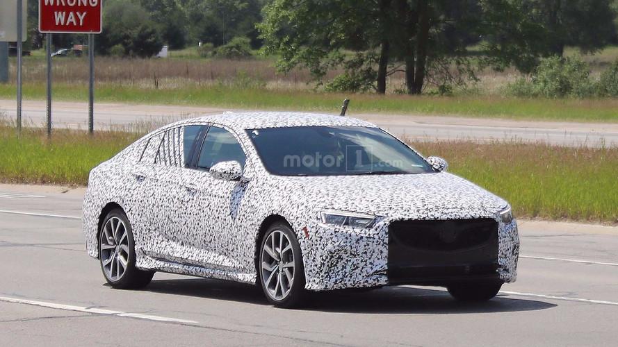 Buick, Regal GS'nin 310 bg olacağını dergide sızdırdı
