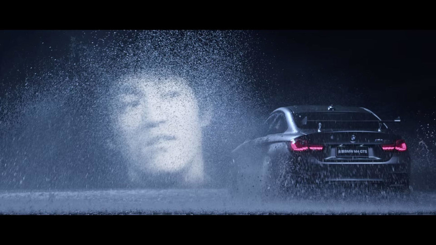 Bruce Lee BMW M4 GTS Ad