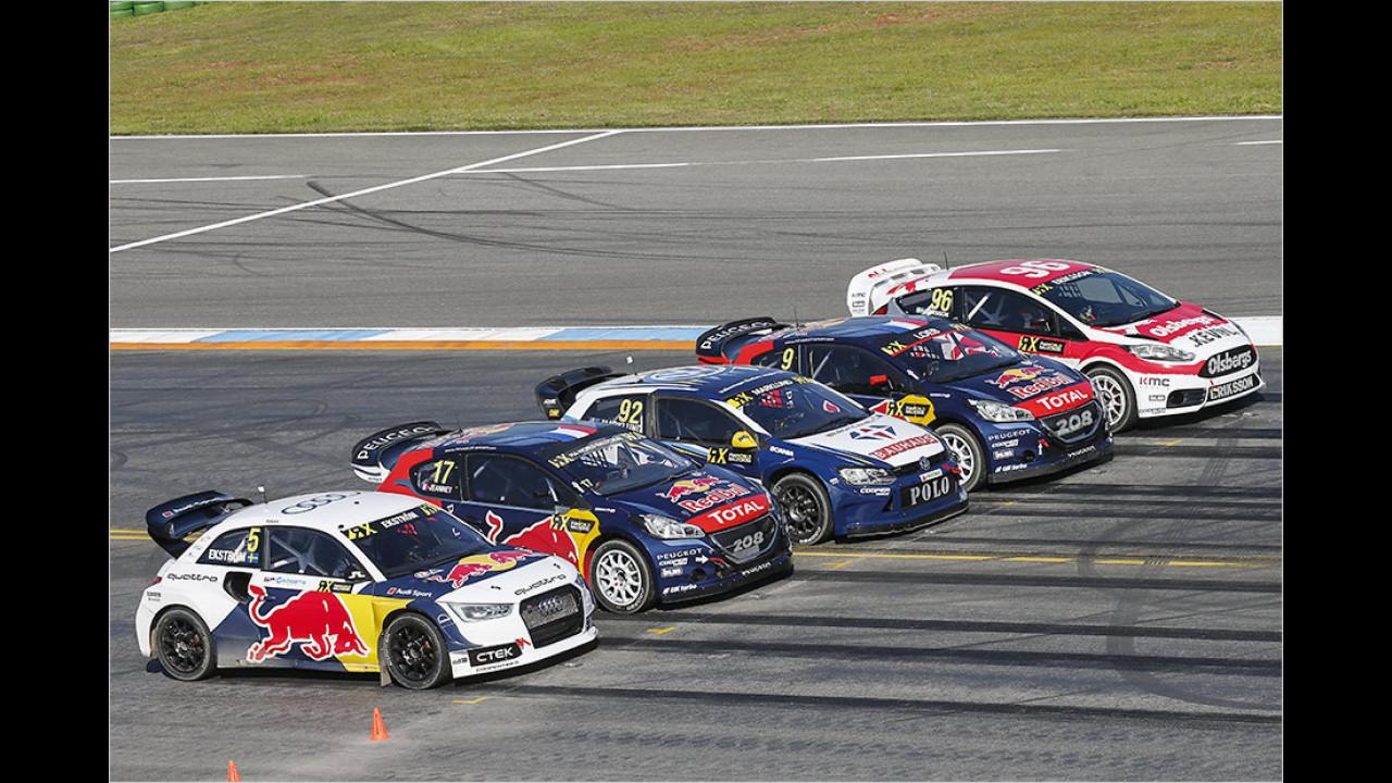 Das größte Spektakel: Die Rallycross-WM