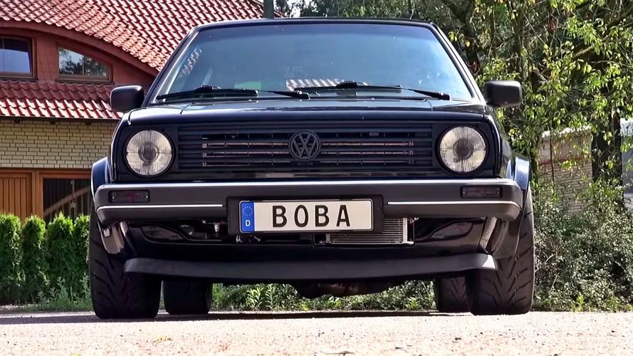 Watch This VW Golf Kill Lambos And A Bugatti Chiron To 180 mph