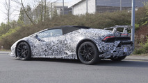 2018 Lamborghini Huracan Performante Spyder spy photo