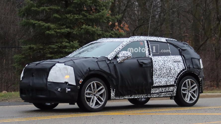 Cadillac XT4 bol kamuflajla görüntülendi