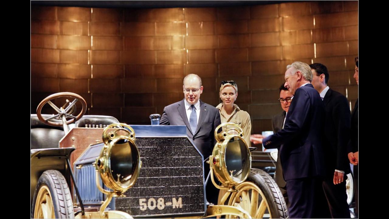 Fürst Albert von Monaco: Mercedes