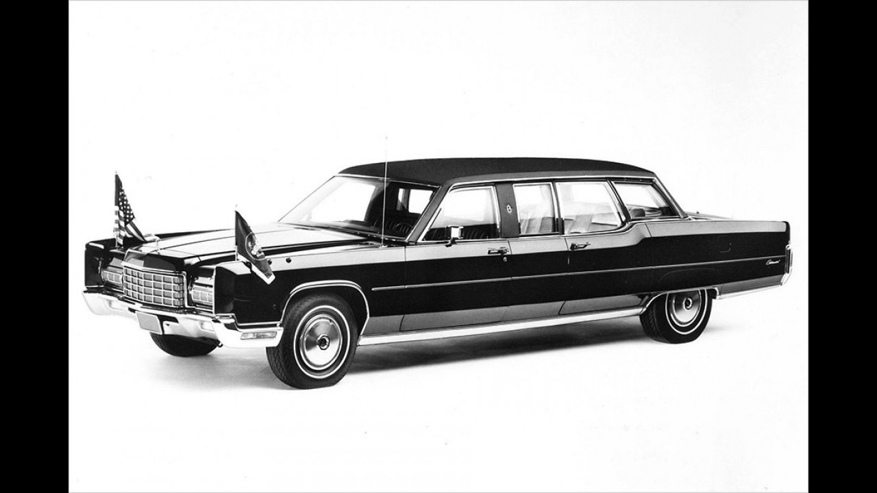 Lincoln Continental Presidential Car (1972)