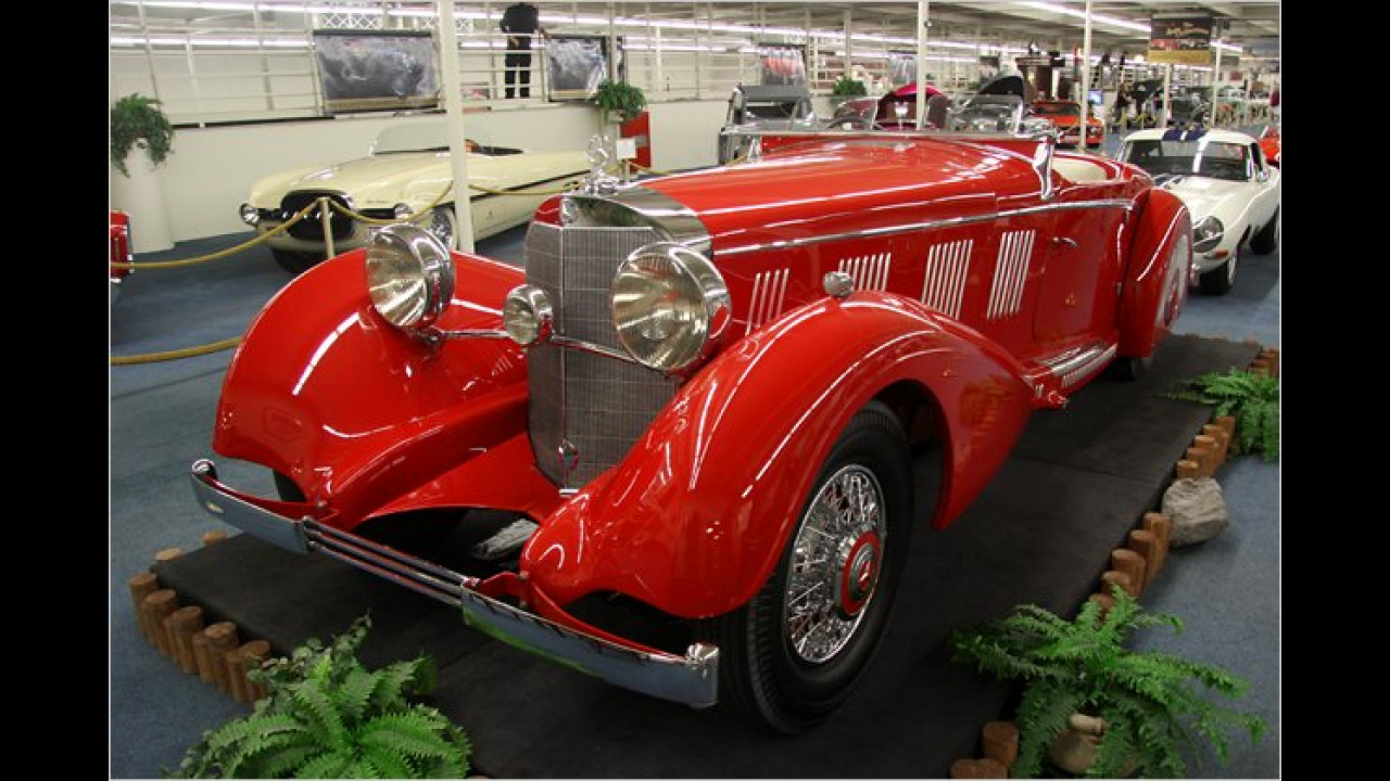 1937 Mercedes-Benz 540K Mayfair Special Roadster