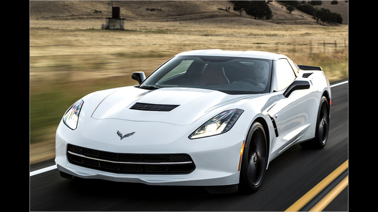 Platz 2: 466 PS im Chevrolet Corvette C7 Stingray