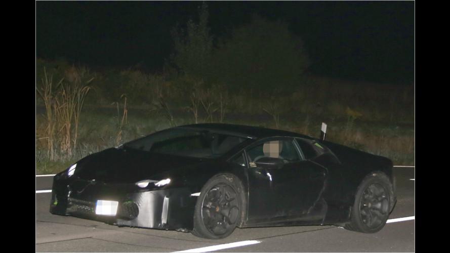Erwischt: Lamborghini Cabrera