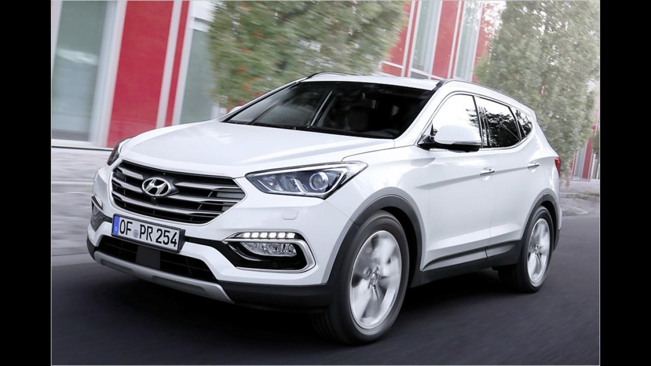 SUV: Hyundai Santa Fe
