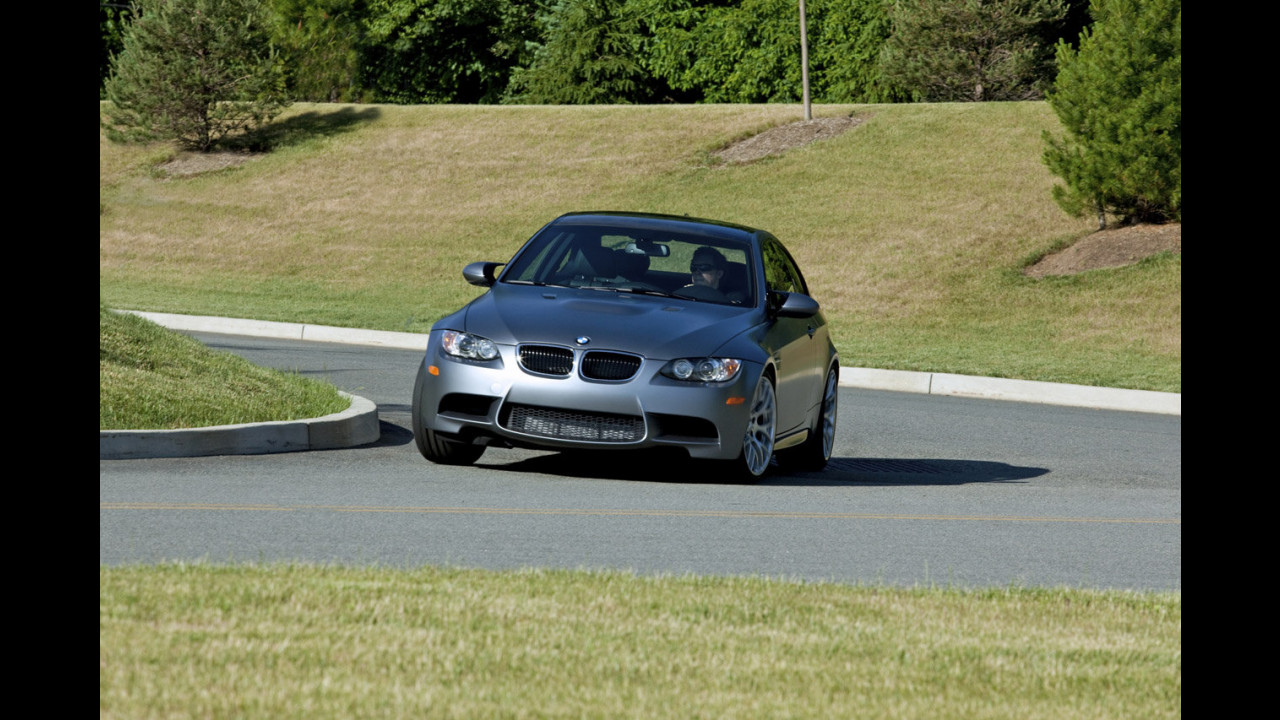 BMW Frozen Gray M3 Coupe