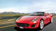Unofficial Ferrari Grand Tourer Artists Rendering
