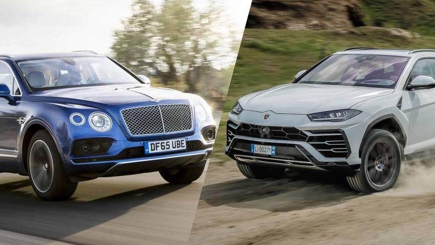 Sayılarla Bentley Bentayga vs Lamborghini Urus