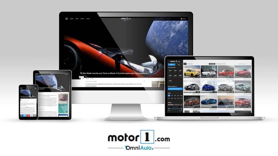 Dünyanın bir numaralı otomotiv yayını Motor1.com'un İtalyan versiyonu artık online!