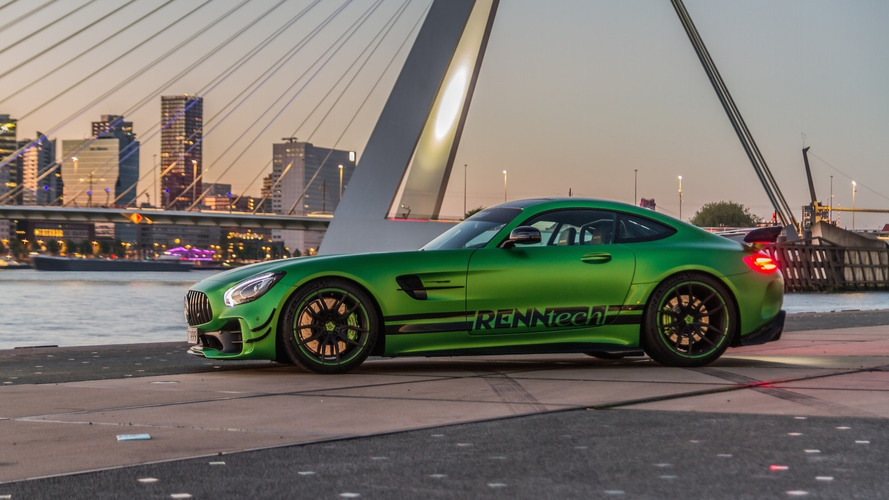 Hulk Unleashed: Mercedes-AMG GT R Dialed To 825 HP
