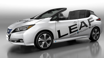 Nissan LEAF Open Car, un prototipo conmemorativo