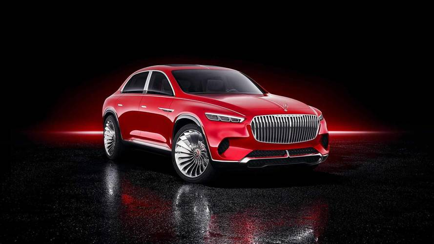 Vision Mercedes-Maybach Ultimate Luxury tanulmány