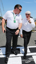 Bernie Ecclestone and Zak Brown, Just Marketing International
