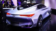 Infiniti Q80 Inspiration concept at 2014 Paris Motor Show