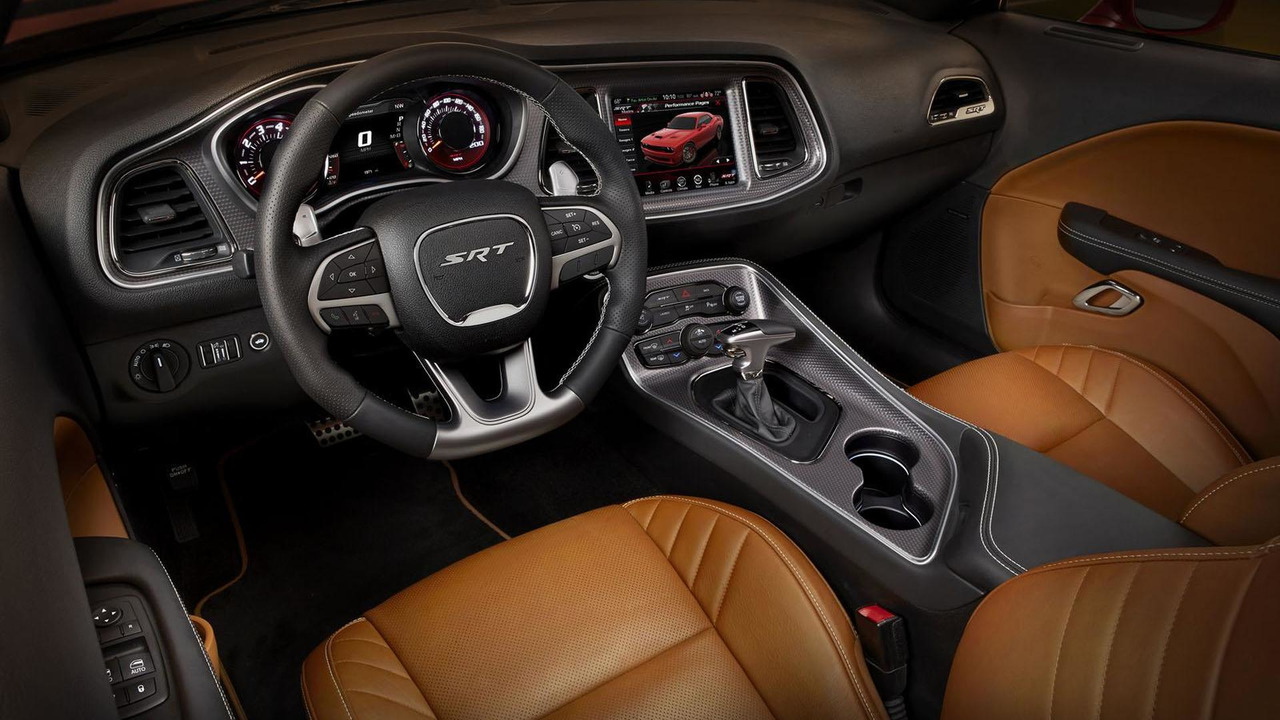 dodge cars review charger srt hellcat autoevolution interior