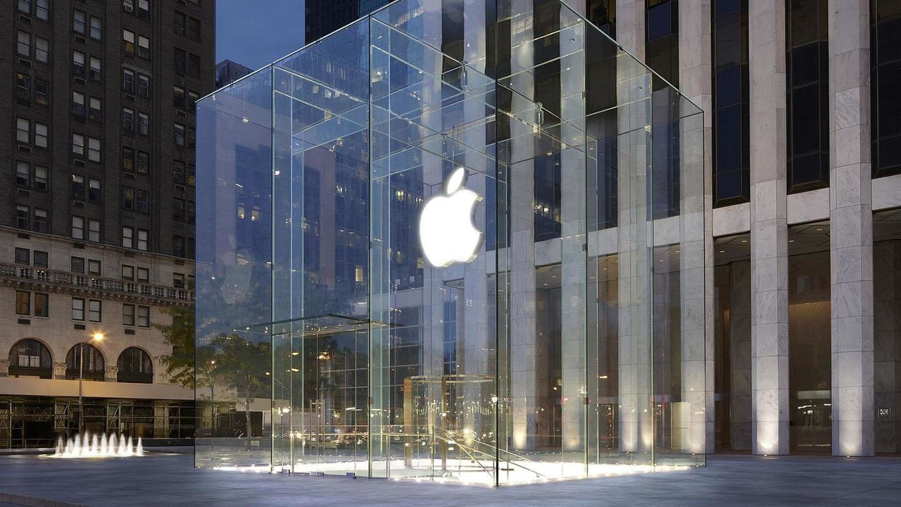 Apple flagship store in New York