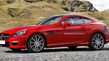 Mercedes-Benz SLK Coupe render