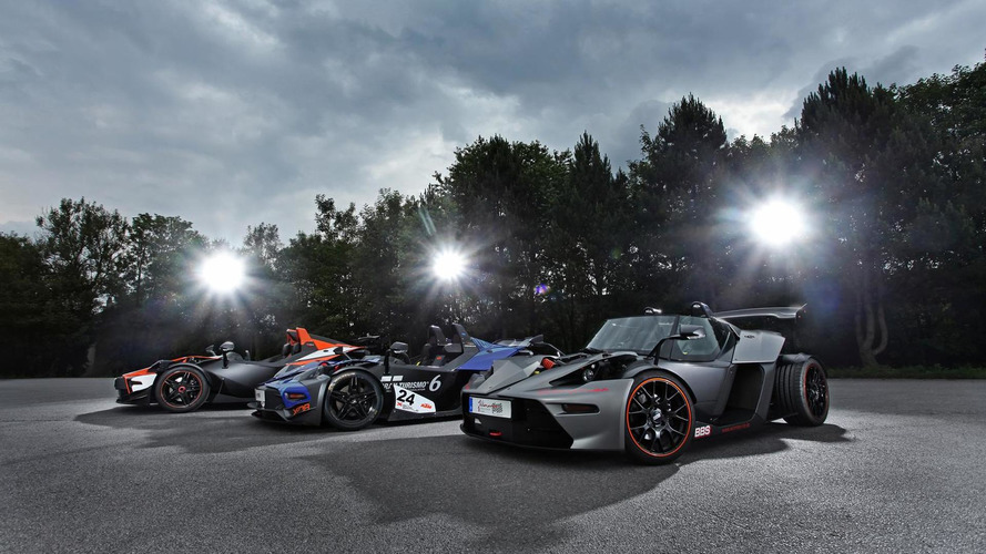 KTM X-BOW GT, R and RR upgraded by Wimmer
