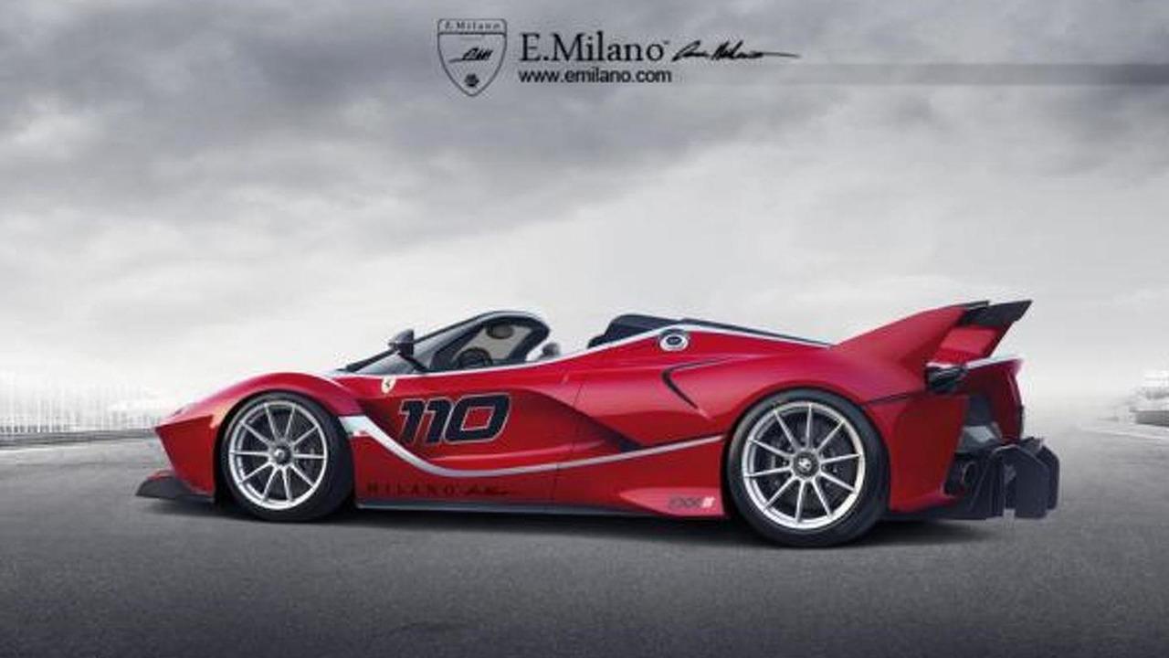 Ferrari FXX K Spider render
