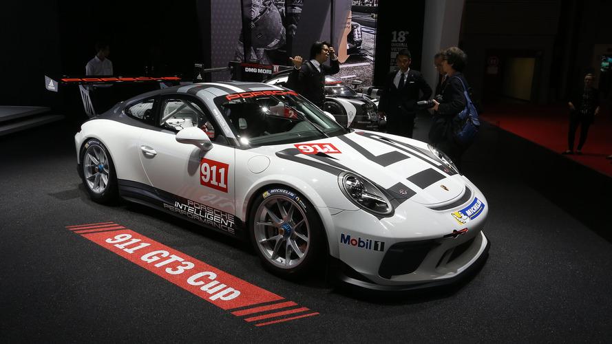 Paris Otomobil Fuarı'nda Porsche 911 GT3 Cup rüzgârı