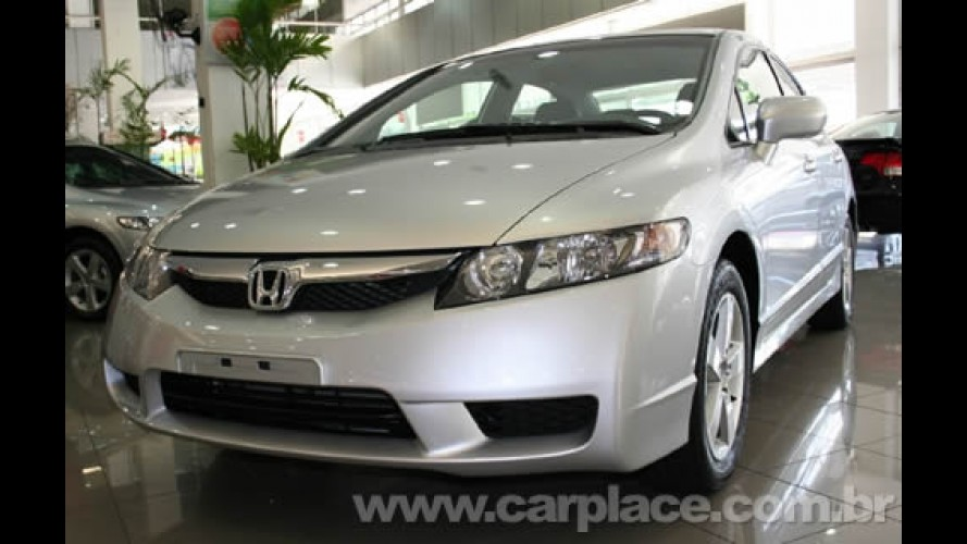 Honda New Civic 2009 já está nas lojas - Preço inicial é R$ 63.900 - Veja a tabela