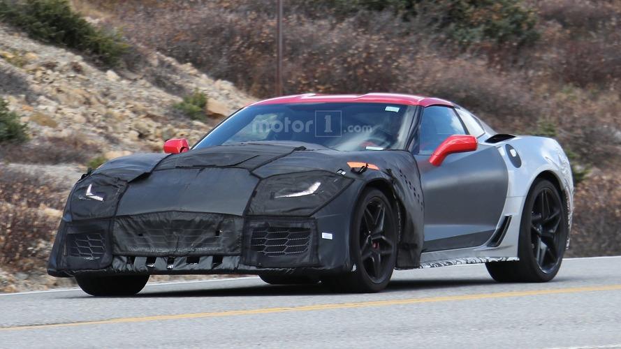 La future Corvette ZR1 se dévoile encore davantage sur de nouveaux clichés