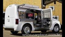 Escritório Móvel - Nissan revela imagens do moderno utilitário NV2500 Concept