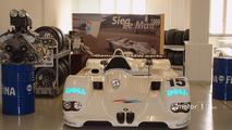 Winner: Le Mans 1999 BMW V12 LMR on display