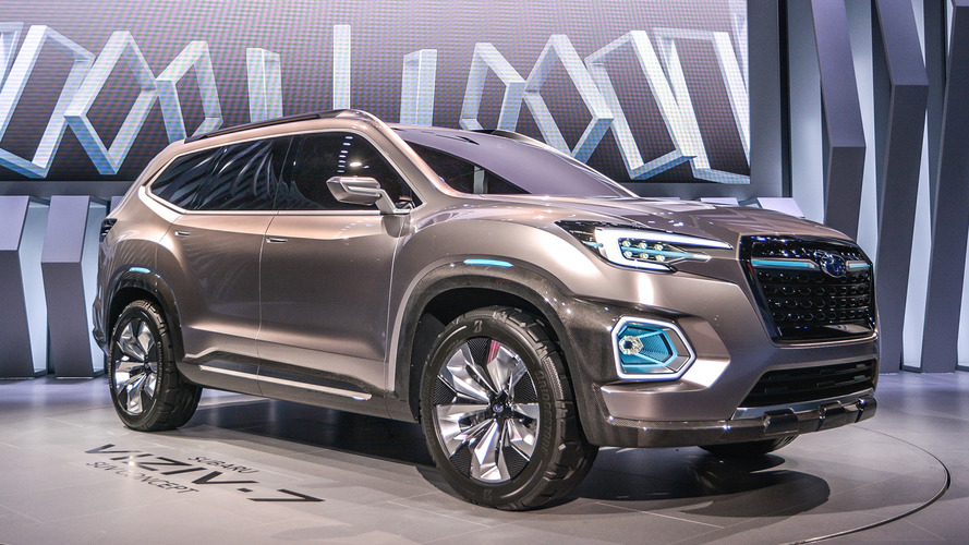 205-inch long Subaru Viziv-7 Concept is ready to shrug off VW Atlas