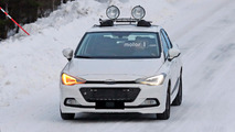 Seat Ibiza spy shots in snow