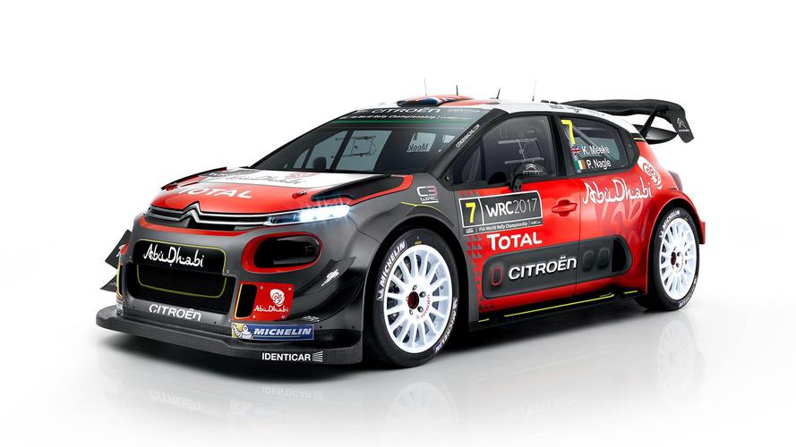 Citroën, C3 WRC'nin örtülerini kaldırdı